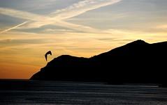 Sunset at Galapos Beach (carla.guerreiro) Tags: sunset shadow sun praia beach portugal water silhouette mar silhouete setubal arrabida galapos pordosolsol