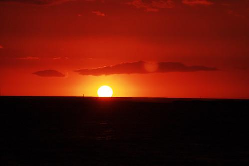 Sunset -  Kailua-Kona, HI by hirantha