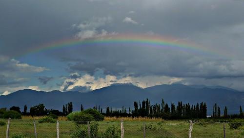 Rainbow - Cafayate, Argentina