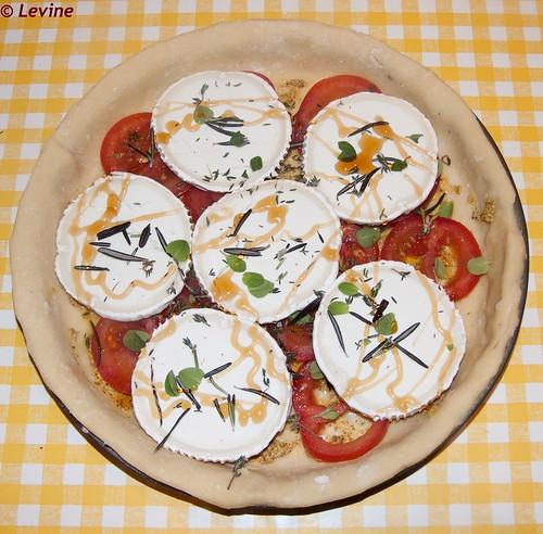 Franse tomatentaart/French Tomato Tart