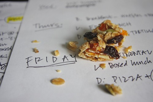 granola bars & to-do lists