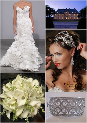 Vintage Tradititional Bridal Style