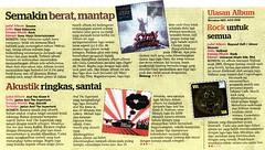 Janice and the Supertank, Utusan Melayu 10.12.2010