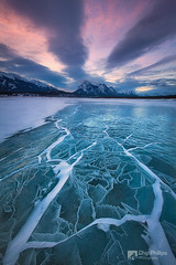 Abraham Lake Winterscape - Chip Phillips