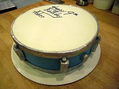 Snare Drum Cake (Pinwheel Bakery) Tags: cake drum custom