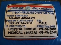 medicare card 1 (Lisa @ Let There Be Cake!) Tags: cake graduation celebration congratulation retirement charlestonsc hanahansc northcharlestonsc lettherebecake lisasargent lisasergent lisaseargent