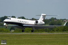 N222LX - 633 - Lexair - Gulfstream V - Luton - 100524 - Steven Gray - IMG_2553