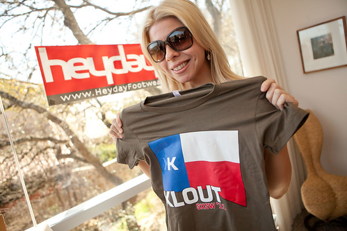 Austin Kloutup at the Klout Krib - SXSW Interactive 2011 - Austin, TX