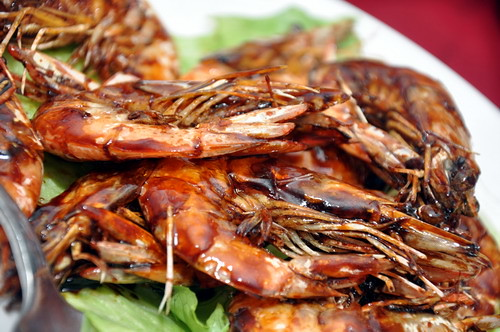 jeff lee kitchen grass prawns