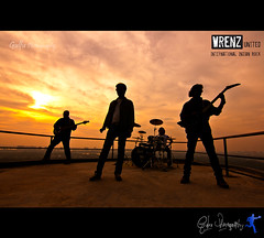 Wrenz United (Gulfu) Tags: life sunset drums bass wide guitars kerala best tokina rockband vocals 1224mm kochi turningpoint canon1000d musicbandphotography gulfuphotography wrenzunited baijudharmajan bijujames roneyrphilip nirmalantony internationalrockband godofsmallstrings