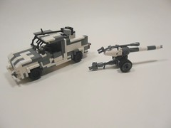 Arctic Wolf Description Video. (Lego Junkie.) Tags: white snow death is video amazing wolf iron power lego scout arctic suit sniper ba mecha banzai dusters brickarms umad