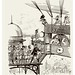 025-Embarcadero de aereonaves-Le Vingtième Siècle 1883- Albert Robida