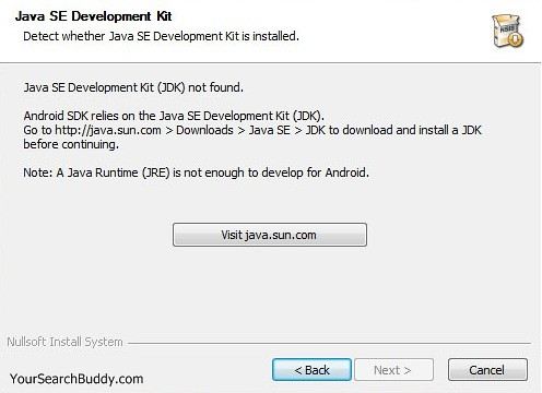 5530465438 96b4d8b0fe JDK not found on Installing Android SDK