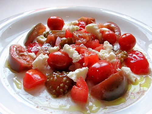 Tomato and Kesong Puti Salad