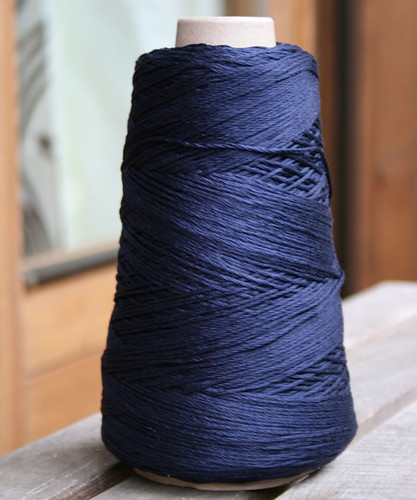 Colourmart 40/120NM DK silk 87 french navy