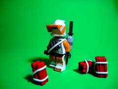 Demolitions Expert (jestin pern) Tags: fiction trooper star lego space explosion science fi wars clone sci blaster expert demolitions