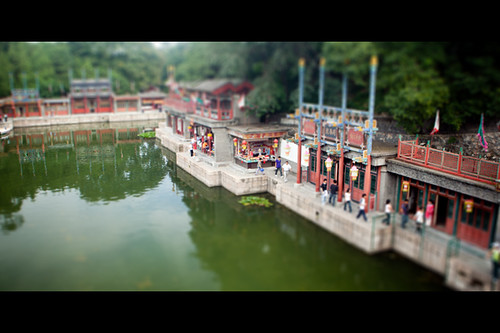 Summer Palace Fake Tilt and Shift