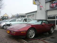 1988 Chervrolet Corvette Convertible U9 (Vinylone - ISCE = On Trade Break) Tags: 1988 convertible corvette chervrolet u9