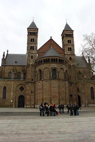 beautiful Basilica in Maastricht