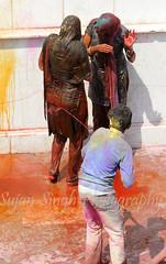Buraa Na Mano Holi Hai at Lath mar Holi ( ) Nand Gaon Mathura UP (sujan singh) Tags: me up mar holi singh nand mathura lath gaon sujan