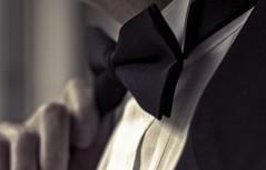 78/365 (Bow Tie) (BuscoAndrea) Tags: sepia formal tie bowtie tux project365 tuxido 365project andreabusco