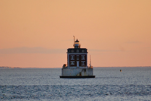 Ledge Light in Long Island Sound