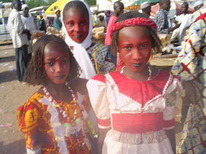 The Mbororo children