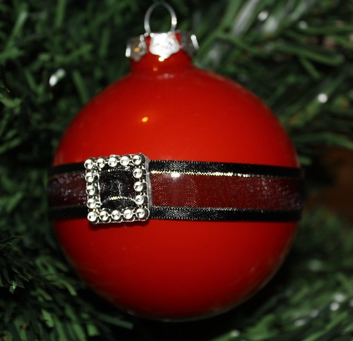 Santa's Belly Bauble