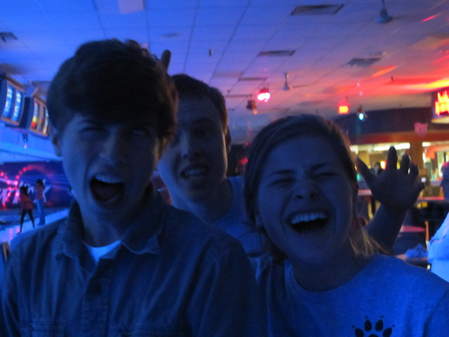 last night bowling