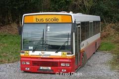Bus Eireann AD14 (94D3014). (Fred Dean Jnr) Tags: cork alexander schoolbus daf setanta dublinbus buseireann february2006 macroom sb220 ad14 busathacliath busscoile adclass exdublinbus 94d3014