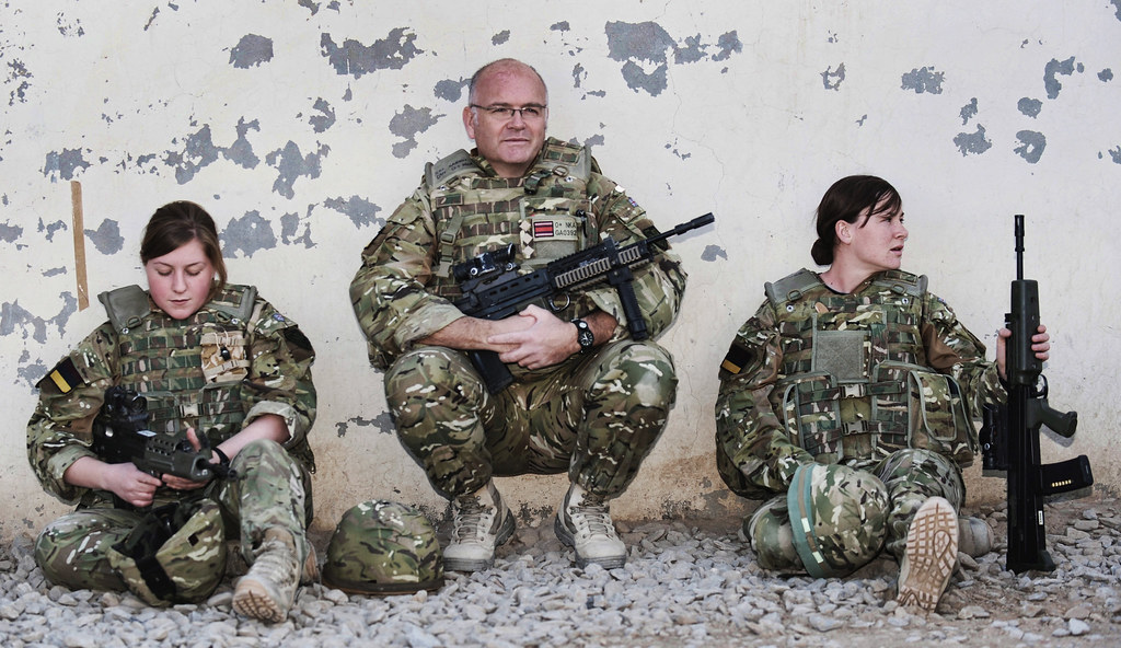 BRITISH ARMY MEDICS HELP SHAPE FUTURE OF HEALTHCARE IN HELMAND