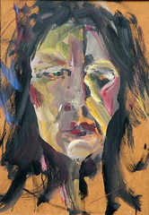 03 óleo sobre tabla   61x42 cm 1981 (arteneoexpresionista) Tags: rando jorge figuras pinturas neoexpresionismo