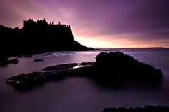 Dunluce (alastair.stockman) Tags: longexposure ireland sunset sea irish castle canon coast northernireland 1740 portrush countyantrim antrim antrimcoast dunluce dunlucecastle irishcastle causewaycoast irishcoast 6minutes 10stop nd110 canon1740f4lusm irishsunset alastairstockman 5d2 countyantrimphotography