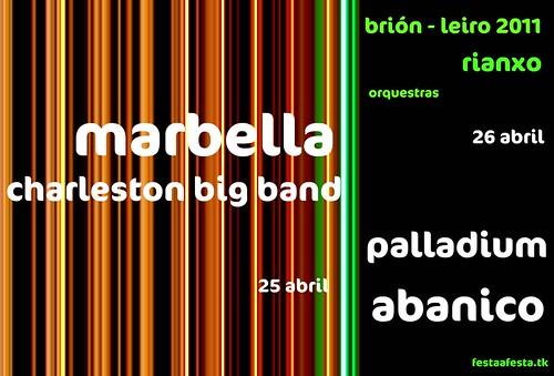 Rianxo 2011- festas en Brión - Leiro - cartel