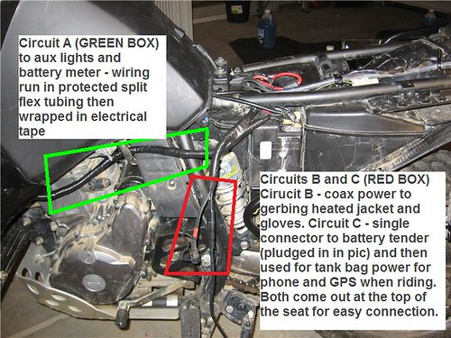2008 klr 650 basic electrical accessories mod Kawasaki KLR 650 – Klr 650 Fuse Box Location