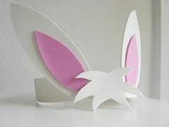 Orelhas de coelho em EVA (comofaz) Tags: bunny kids easter kid eva handmade artesanato craft foam criança crianças coelho tutorial pap pascoa coelhinho passoapasso comofaz