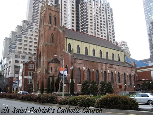 Saint Patrick's Church in San Francisco