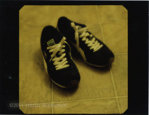 Instant film project: shoes