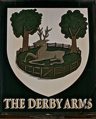 The Derby Arms - Halewood, Liverpool. (garstonian) Tags: liverpool pubs pubsigns merseyside halewood