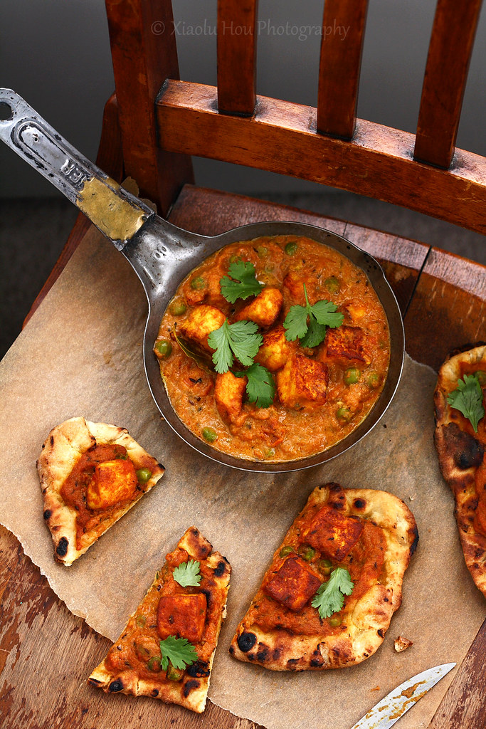 Butter Paneer Curry Pizza