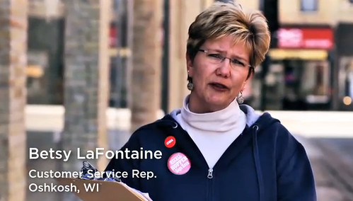 Local 4621 VP Betsy LaFontaine