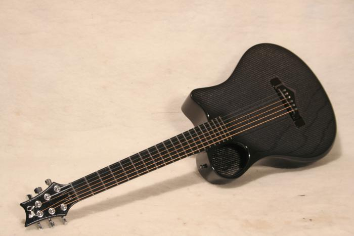 Brand New Model Carbon Fiber Emerald X7 With Offset Soundhole