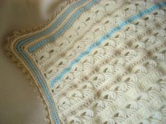 Pormenor da Manta em Crochet Peruano... (Trapinhos da Juja) Tags: baby crochet felt bebe feltro embrodery bordado crochetperuano