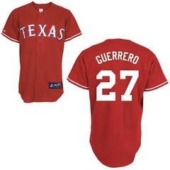 Texas Rangers #27 Vladimir Guerrero Red Jersey (Terasa2008) Tags: jersey texasrangers 球员 cheapjerseyswholesale cheapmlbjerseys mlbjerseysfromchina mlbjerseysforsale cheaptexasrangersjerseys