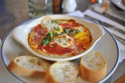 breakfast at Cafe Gitane