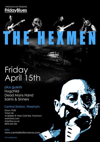 Friday Blues HexMen