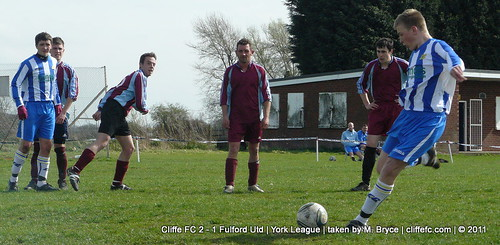 Cliffe FC vs. Fulford Utd 2Apr11