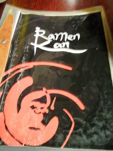 Ramen-Kan Menu
