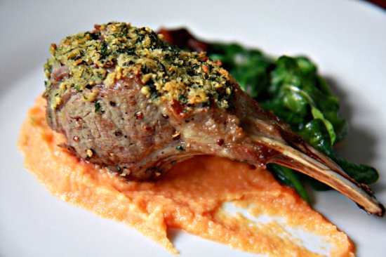 Mint n Ginger Lamb Chops