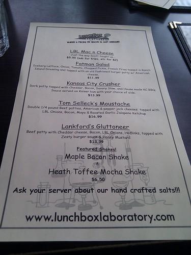 LL menu